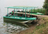 Boat tours on Lake Imburo where both wild game, Hippos and Crocodiles will be seen